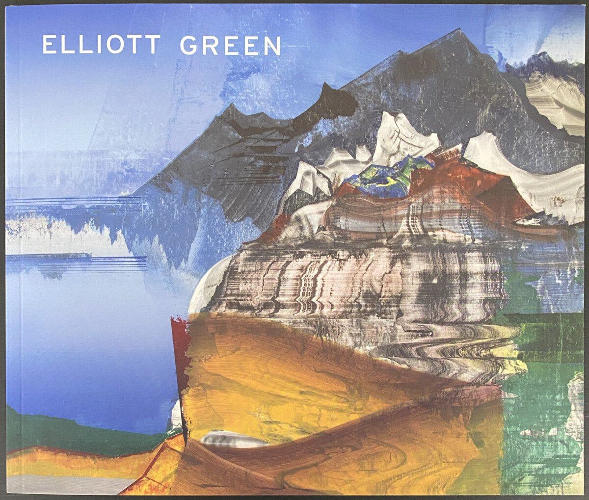 "This is the cover of the Elliott Green exhibition called ""Human Nature"" at Pierogi gallery in 2017"